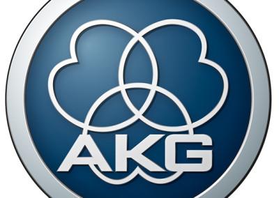 AKG Logo silber 3D